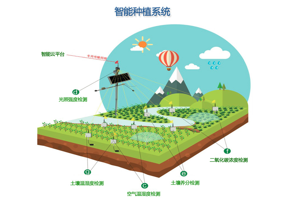 智慧农业物联网种植解决方案